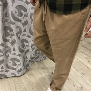 PANTALONE COULISSE BISCOTTO BL.11